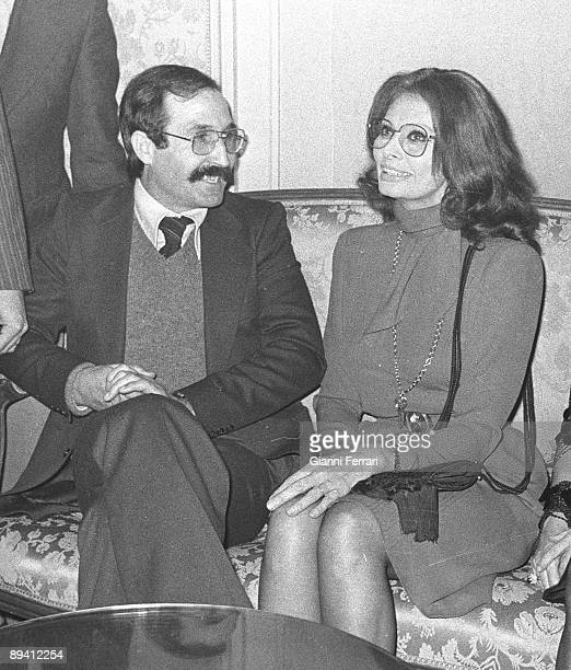 1979 Madrid Spain Eleuterio Sanchez El Lute' famous spanish former convict on the sixties and the seventies and current lawyer with the actress Sofia...