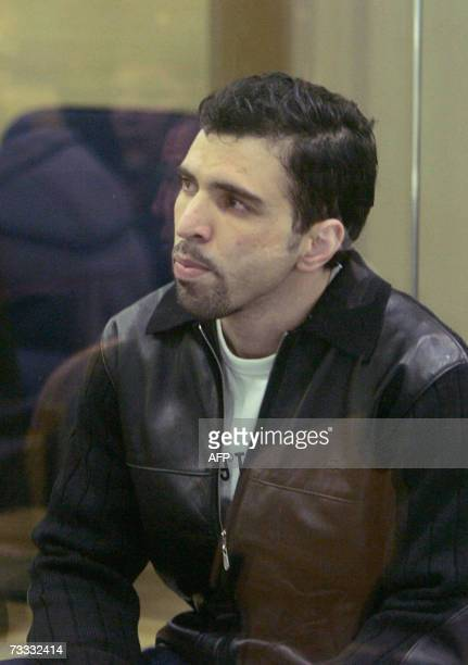 Jamal Zougam one of the suspected bombers sits in court at the start of the trial of those suspected of being involved in the 2004 Madrid train...