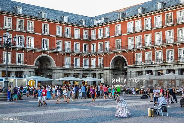 Madrid, España-Plaza Mayor