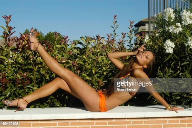2007 Madrid Spain Portrait of Anna Naroznaya top model