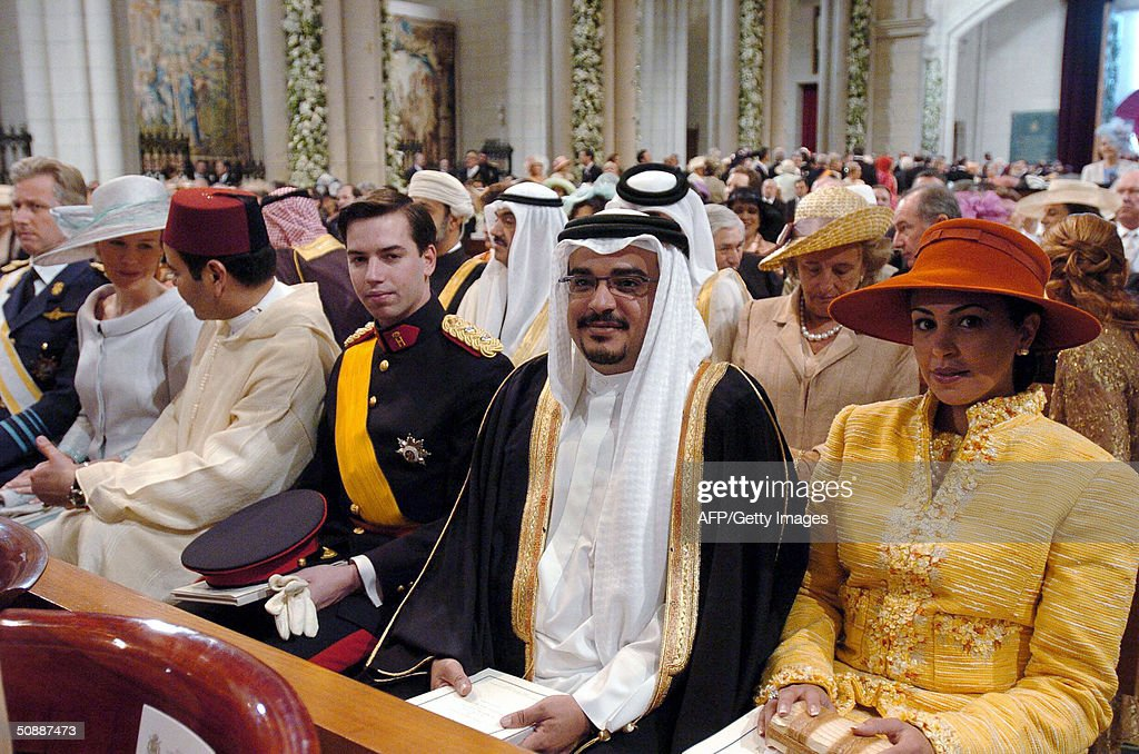 (FromL) Prince Philippe of Belgium, his : News Photo