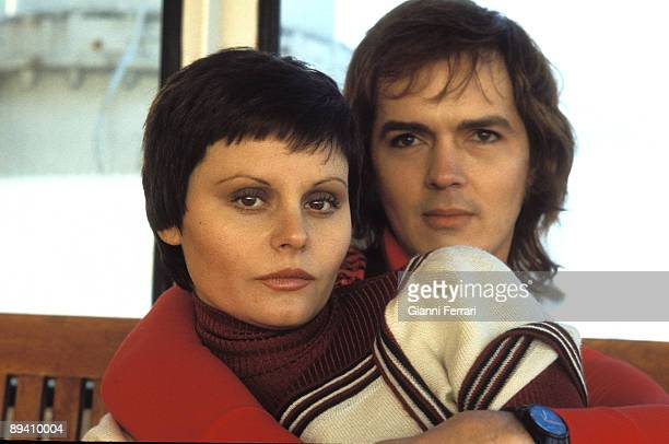 1974 Madrid Spain The singer Rocio Durcal and her husband the singer too Antonio Morales 'Junior' in 'their house