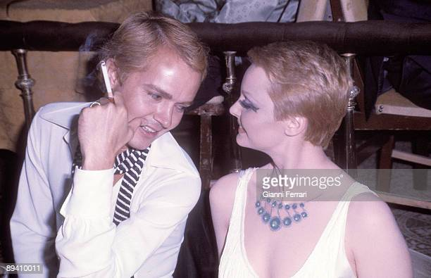 1976 Madrid Spain The singer Rocio Durcal and her husband the singer too Antonio Morales 'Junior'