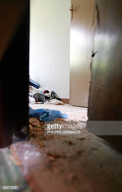 View dated 15 June 2005 of the interior of one flat where the Spanish police arrested Islamic extremists in Madrid Spanish authorities have arrested...