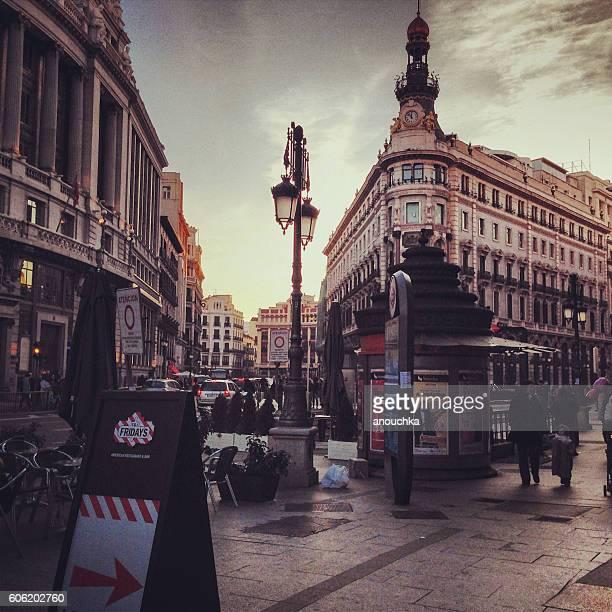 Madrid streets, Spain