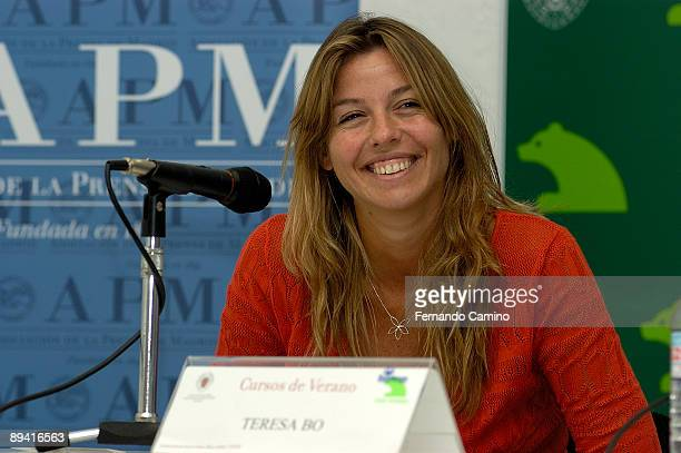Madrid Teresa Bo Correspondent of the newspaper The Reason