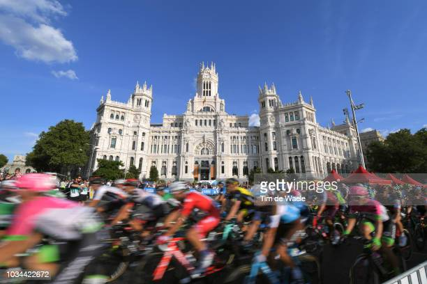 Madrid Town Hall / Plaza Cibeles / Landscape / Peloton / during the 73rd Tour of Spain 2018, Stage 21a 100,9km stage from Alcorcon to Madrid / La...