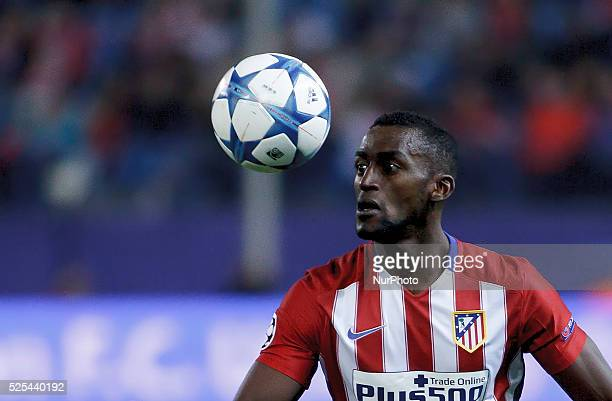 Atletico de Madrid's Colombian forward Jackson Martinez during the UEFA Champions League 2015/16 match between Atletico de Madrid and Astana, at...
