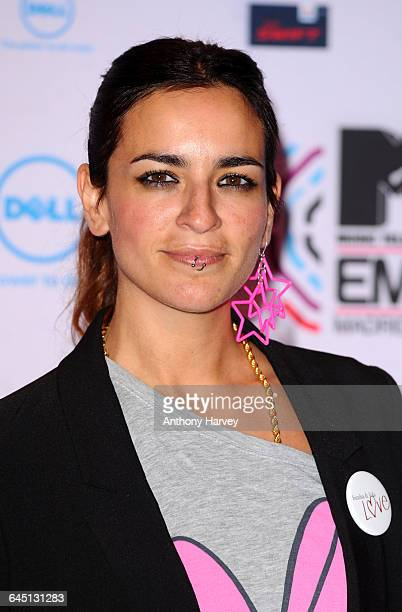 Maria Nieves Rebolledo attends the MTV EMA Awards at the Caja Magica in Madrid on November 7 2010