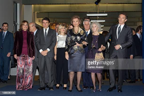 Madrid's major Ana Botella Madrid Regional President Ignacio Gonzalez Cayetana Martinez de Irujo Queen Sofia of Spain Carlos Martinez de Irujo...