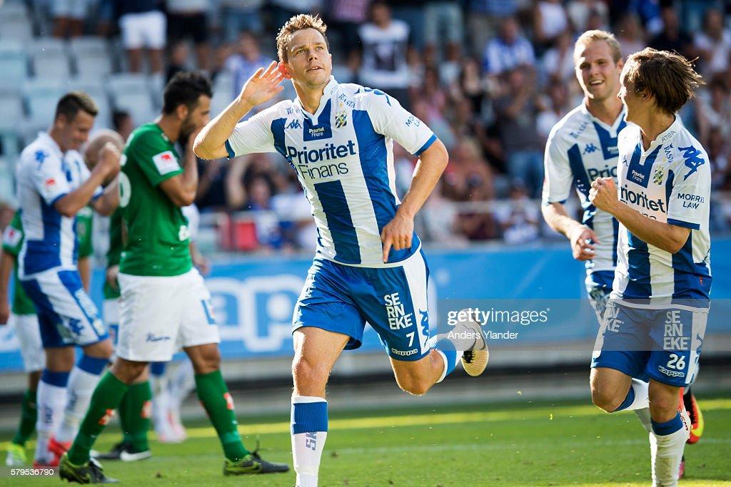 IFK Goteborg v Jonkoping Sodra IF - Allsvenskan : News Photo