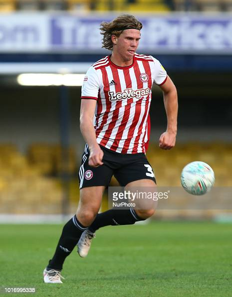 8d1591e0 Mads Bech Sorensen of Brentford during Carabao Cup match between... News  Photo - Getty Images