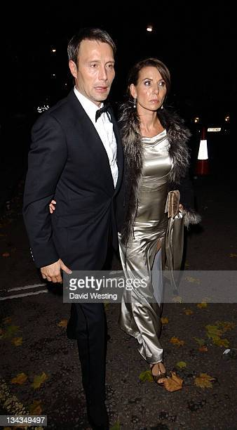 Mads Mikkelsen and Guest during 'Casino Royale' World Premiere After Show Party Outside Arrivals at Barclay Square London in London Great Britain