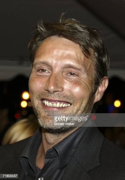 Mads Mikkelsen arrives on the red carpet for the TIFF gala screening of the film After the Wedding on September 15 2006 in Toronto Canada