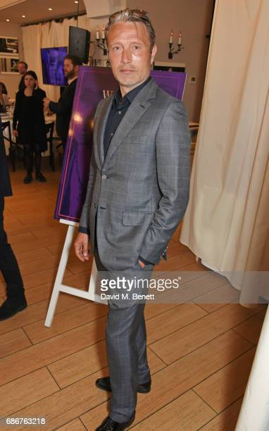 Mads Mikkelsen attends a lunch celebrating the World Premiere of 'The Cut' Sir Elton John and Bernie Taupin's classics 'Rocket Man' 'Tiny Dancer' and...