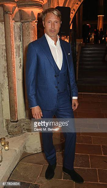 Mads Mikkelsen attends Marvel Studios and British GQ hosted reception in The Cloisters at Westminster Abbey to celebrate the release of Doctor...