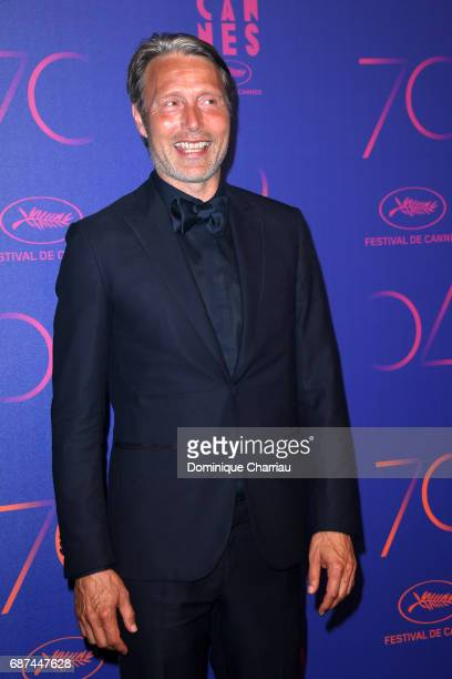 Mads Mikkelsen attends the 70th Anniversary Dinner during the 70th annual Cannes Film Festival at on May 23 2017 in Cannes France