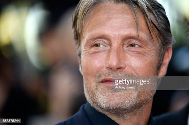 Mads Mikkelsen attends the 70th Anniversary of the 70th annual Cannes Film Festival at Palais des Festivals on May 23 2017 in Cannes France