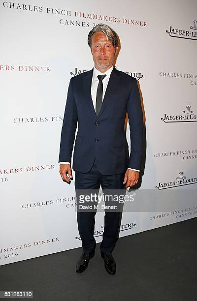 Mads Mikkelsen attends The 8th Annual Filmmakers Dinner hosted by Charles Finch and JaegerLeCoultre at Hotel du CapEden Roc on May 13 2016 in London...