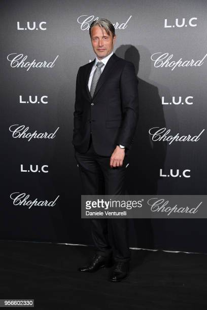 Mads Mikkelsen attends the Chopard Gentleman's Night during the 71st annual Cannes Film Festival at Martinez Hotel on May 9 2018 in Cannes France