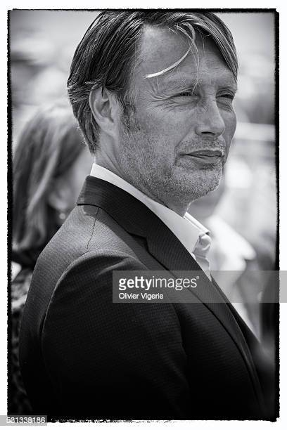 Mads Mikkelsen attends the Jury Photocall during the 69th annual Cannes Film Festival on May 11 2016 in Cannes France