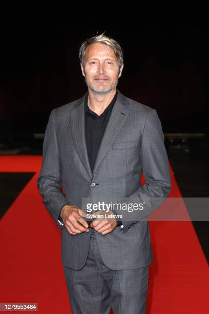 Mads Mikkelsen attends the opening ceremony at the 12th Film Festival Lumiere on October 10, 2020 in Lyon, France.