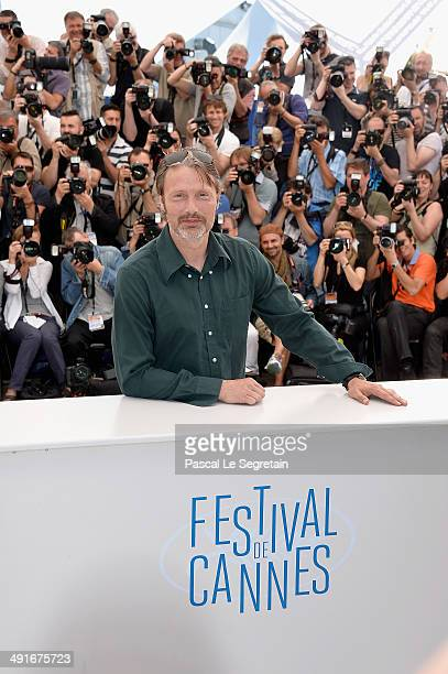Mads Mikkelsen attends 'The Salvation' photocall during the 67th Annual Cannes Film Festival on May 17 2014 in Cannes France