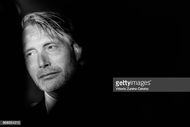 Mads Mikkelsen attends the Women in Motion Awards Dinner presented by Kering and the 71th Cannes Film Festival at Place de la Castre on May 13 2018...