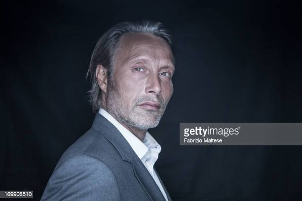 Mads Mikkelsen is photographed for Self Assignment on May 20 2013 in Cannes France