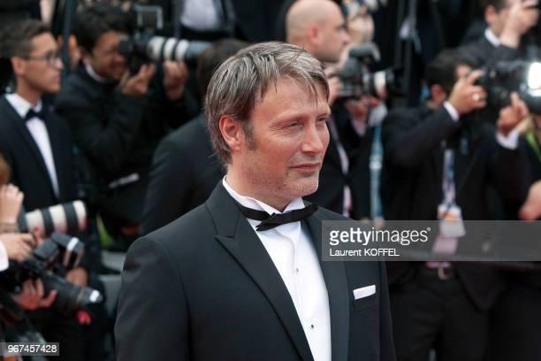 Mads Mikkelsen lors de la première du film 'La glace et le ciel' et de la cérémonie de clôture du 68eme Festival du Film Annuel au Palais des...