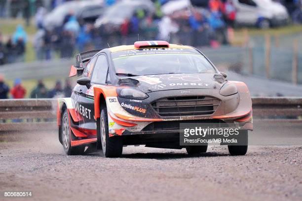 Mads Ostberg NOR Ola Floene NOR M Sport World Rally Team during the WRC Orlen 74 Rally Poland on June 30 2017 in Mikolajki Poland