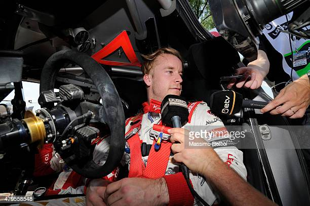 Mads Ostberg of Norway during Day Three of the WRC Poland on July 5 2015 in Mikolajki Poland