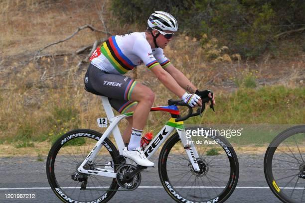 Mads Pedersen of Denmark and Team Trek-Segafredo / during the 22nd Santos Tour Down Under 2020, Stage 6 a 151,5km stage from McLaren Vale to Willunga...