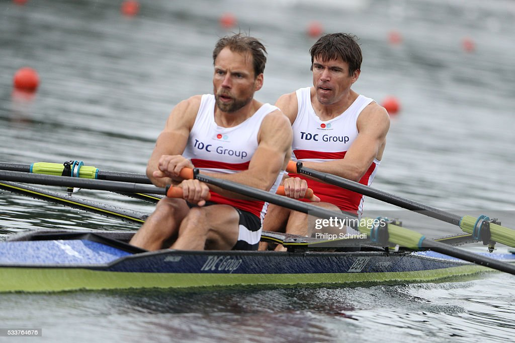 2016 FISA European And Final Olympic Qualification Regatta - Day 2 : News Photo