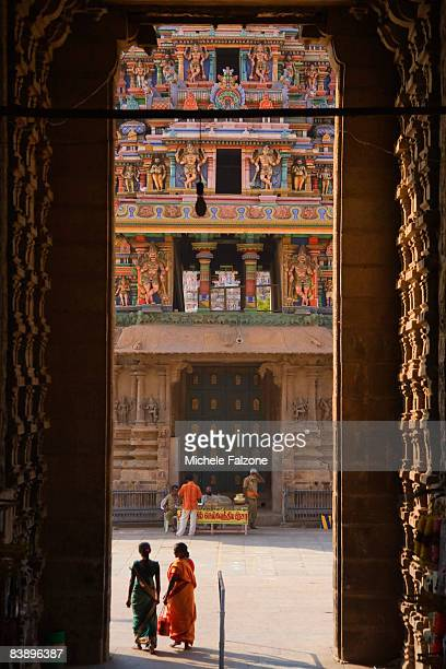 Madurai, entrance to Sri Meenakshi Temple