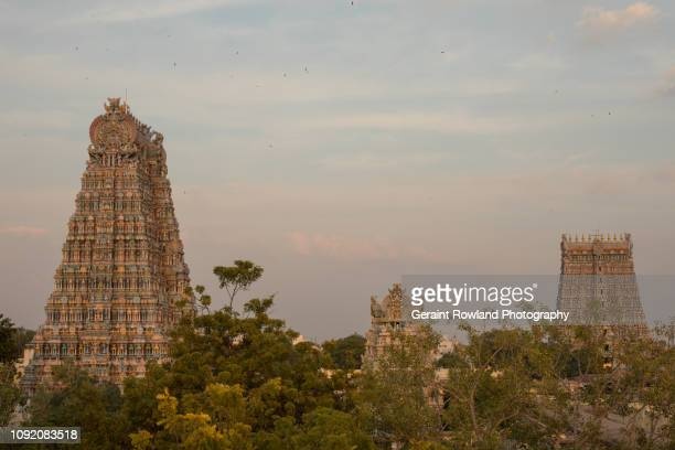 Madurai, the City of Temples during Golden Hour