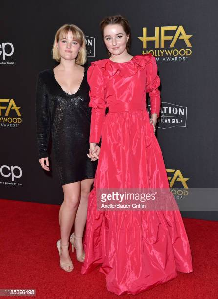 Mady Dever and Kaitlyn Dever attend the 23rd Annual Hollywood Film Awards at The Beverly Hilton Hotel on November 03 2019 in Beverly Hills California