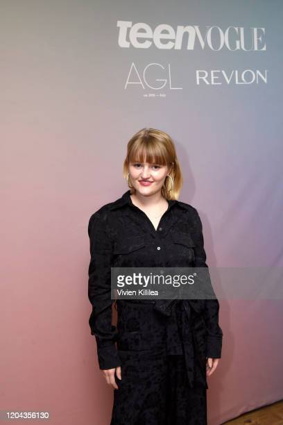 Mady Dever attends Teen Vogue Celebrates Young Hollywood 2020 at San Vicente Bungalows on February 05 2020 in West Hollywood California