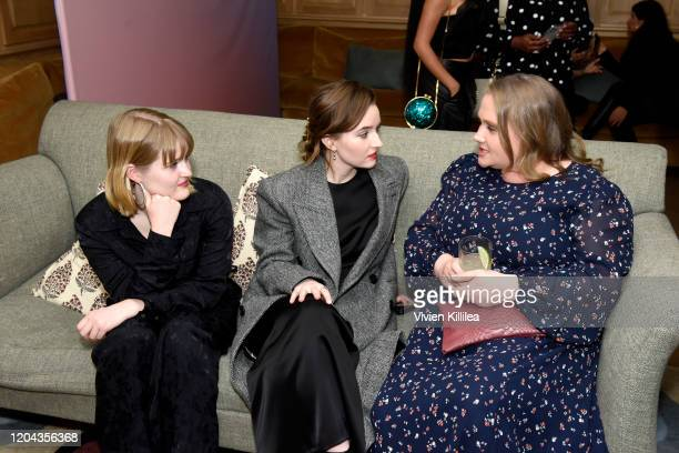 Mady Dever Kaitlyn Dever and Danielle Macdonald attends Teen Vogue Celebrates Young Hollywood 2020 at San Vicente Bungalows on February 05 2020 in...
