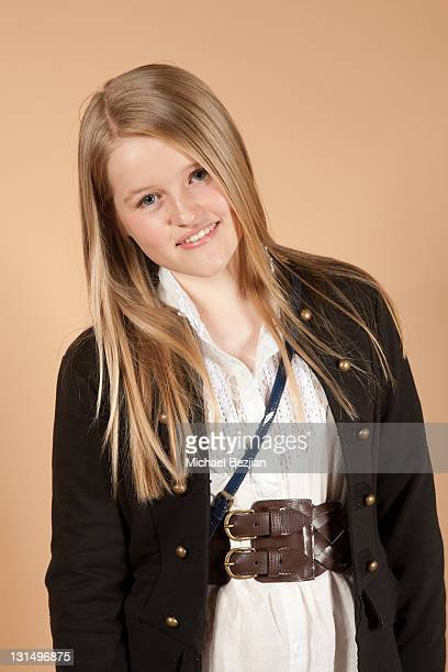 Mady Dever poses at Ryan Newman's 13th Birthday Party Portraits With The PhotoFund For SKIP1ORG on April 22 2011 in Los Angeles California