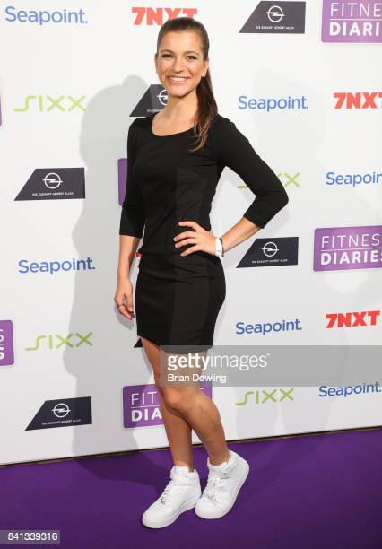 Mady Morrison attends the launch event for Sophia Thiel's new TV Show 'Fitness Diaries' at Soho House on August 31 2017 in Berlin Germany