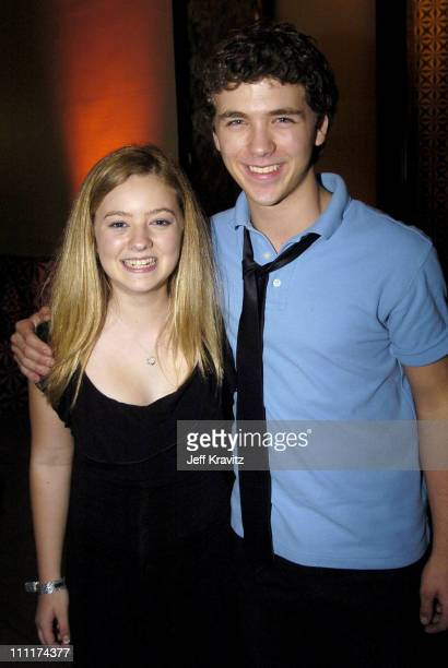 Madylin Sweeten and guest during Everybody Loves Raymond Wrap Party January 23 United States