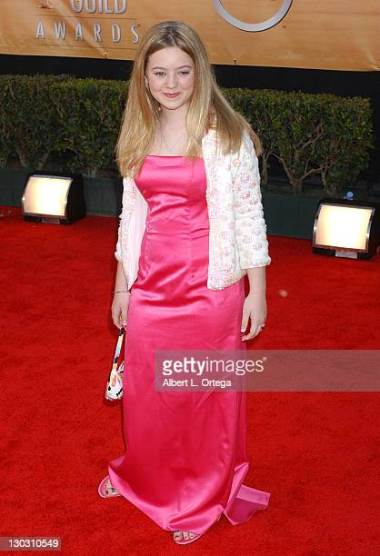 Madylin Sweeten during 11th Annual Screen Actors Guild Awards Arrivals at Shrine Auditorium in Los Angeles California United States