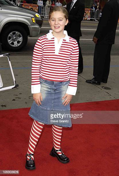 Madylin Sweeten during The World Premiere of Looney Tunes Back in Action at Grauman's Chinese Theater in Hollywood California United States