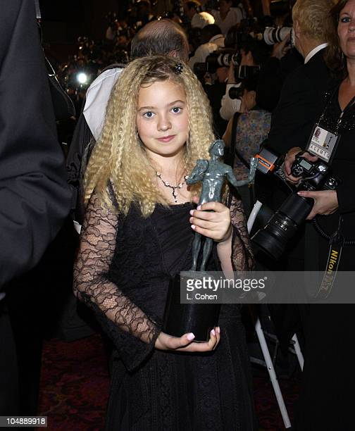 Madylin Sweeten of Everybody Loves Raymond during Ninth Annual Screen Actors Guild Awards Backstage and Audience at The Shrine Auditorium in Los...