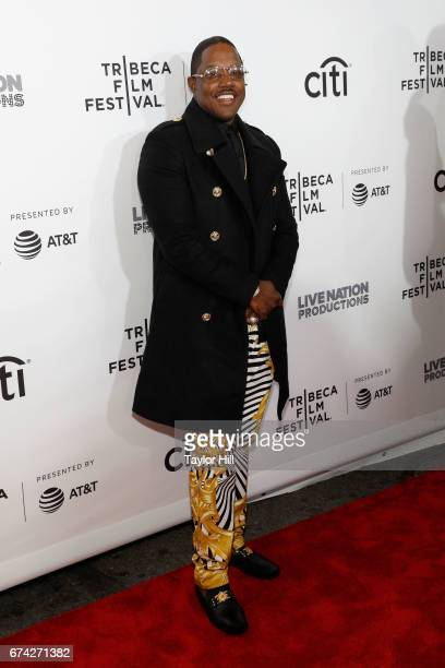 Ma$e attends the Can't Stop Won't Stop premiere during the 2017 Tribeca Film Festival at Beacon Theatre on April 27 2017 in New York City