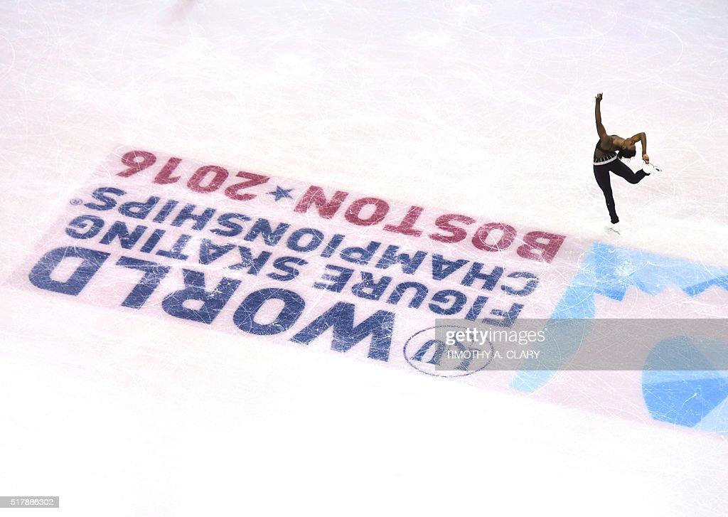 US-FSKATE-ISU-WORLD-FIGURE-SKATING-CHAMPIONSHIPS : News Photo