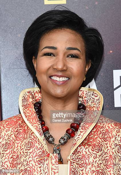 Mae C Jemison attends the National Geographic Channel 'MARS' New York Premiere at the School of Visual Arts on October 26 2016 in New York City