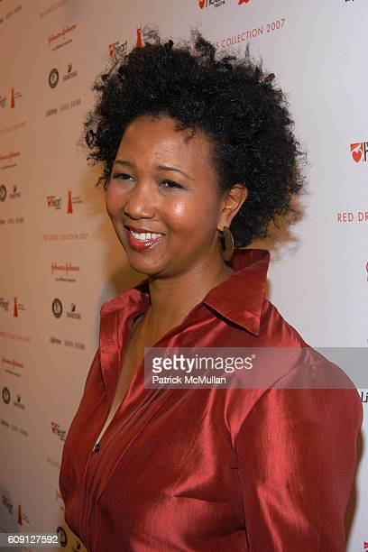 Mae Jemison attends Junior Achievement National Job Shadow Day with B Smith at Bryant Park Tents on February 2 2007 in New York City