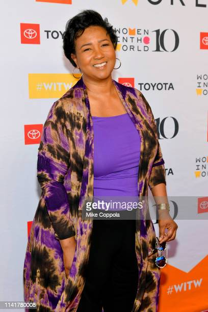 Mae Jemison attends the 10th Anniversary Women In The World Summit at David H Koch Theater at Lincoln Center on April 10 2019 in New York City
